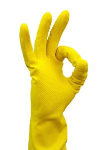 Хранение хозяйственных перчаток