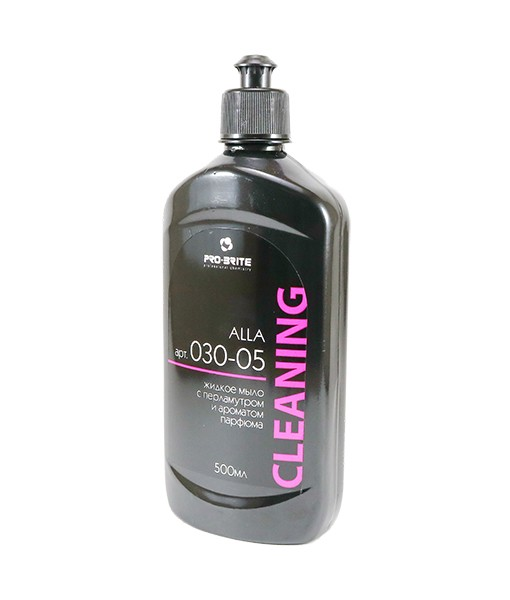 Жидкое мыло с перламутром и ароматом парфюма ALLA (0,5л)