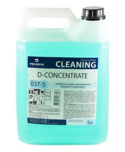 Д-Концентрат (D-Concentrate) 5л  универс. низкопенный моющий концентрат