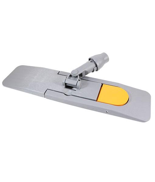 Держатель для мопа серый/оранжевый (магнит (40см))