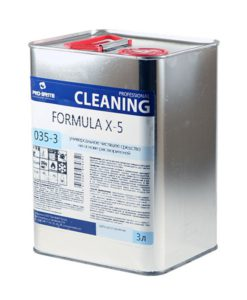 Формула X-5 (Formula-X-5) 3л чистящее ср-во (против клея от скотча)