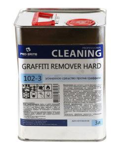 Граффити Ремовер Хард (Graffiti Remover Hard) 3л усиленное ср-во для удаления граффити