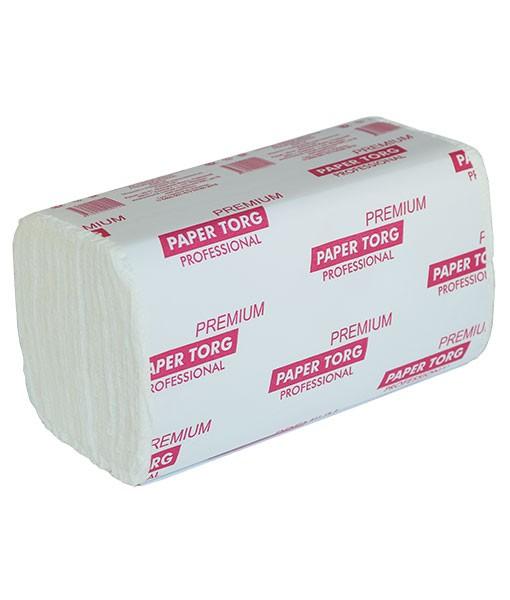 Листовые полотенца ZZ 200 (белые 2-х слойные целлюлоза) (20 шт./упак.)