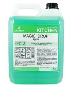 Мейджик Дроп Яблоко (Magic Drop Apple) 5л средство для мытья посуды