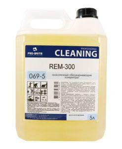 РЕМ-300 (REM-300) 5л обезжиривающий концентрат для пола