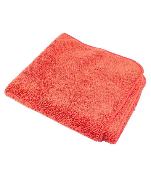 Салфетка из микрофибры 40*40см (красная) 320 гр/м2