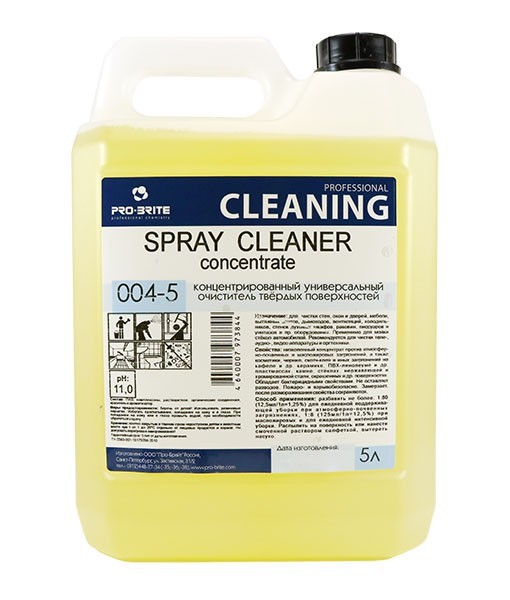 Spray Cleaner Concentrate (5л)