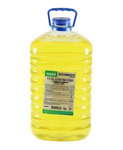 Профит DishWash Lemon 5л (ПЭТ)ср-во для мытья посуды