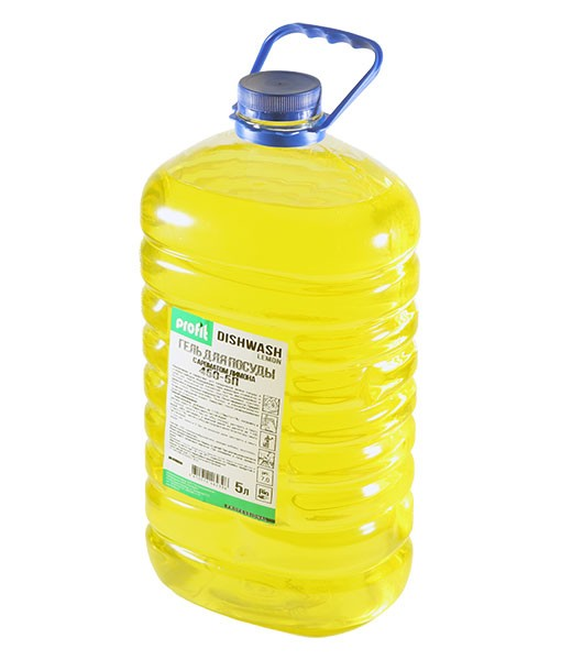 Profit DishWash Lemon 5л средство для мытья посуды