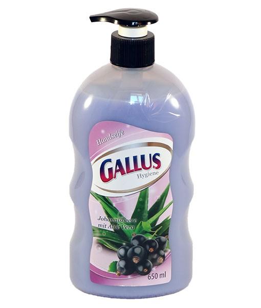 Жидкое мыло Gallus 0,65л смородина
