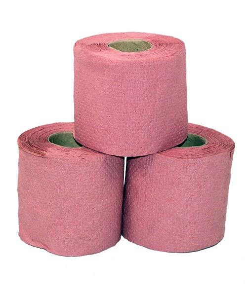 Туалетная бумага розовая
