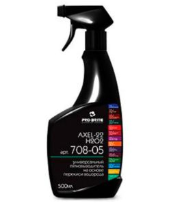 Аксель-22 Н2О2 (Axel-22 H2O2) 0,5л пятновыводитель на основе перекиси водорода с триггером