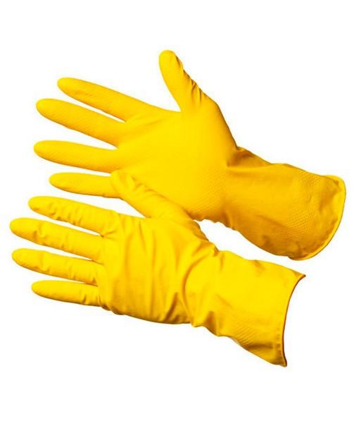 Перчатки хозяйственные с напылением М