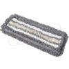 Моп 50см петельный СЕРЫЙ комбинированный карман MVP-50-RS