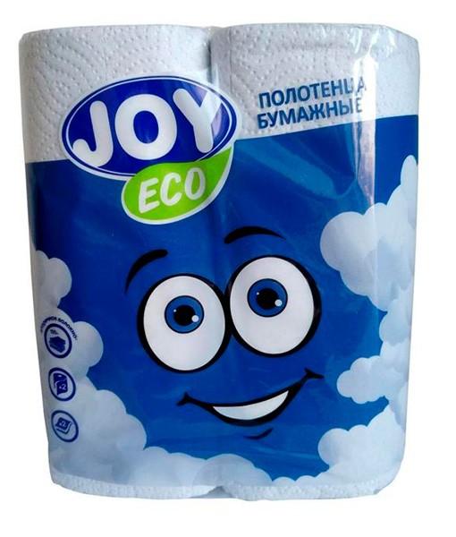 Полотенца бумажное влагопрочное JOY Land ECO 2-сл (2 шт. в упак.)