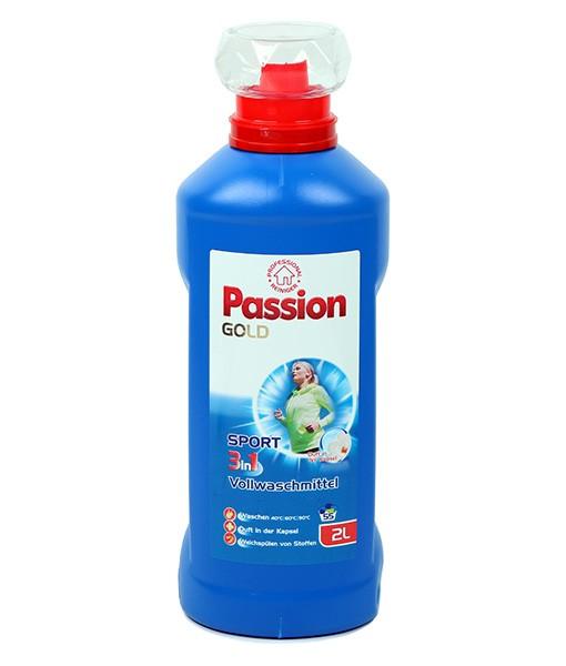 Гель для стирки Passion Gold 3 in 1 Sport l (универсальный) 2л