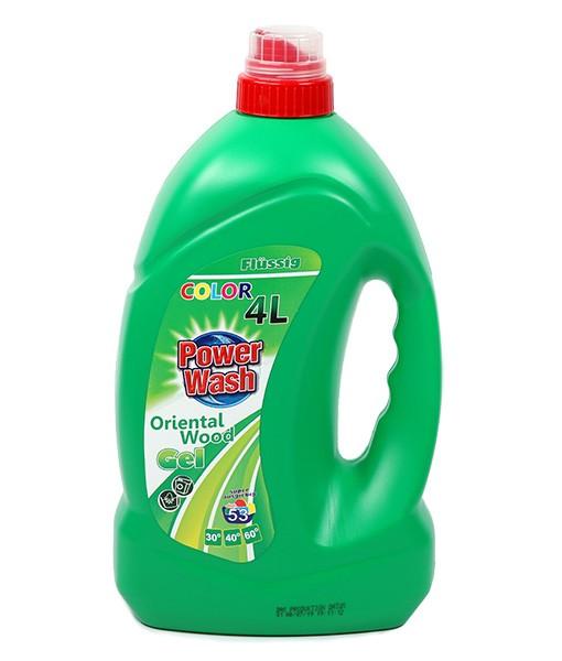 Гель для стирки Power Wash (для цветного ) 4л