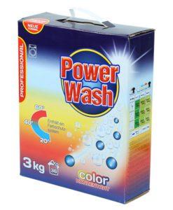 Стиральный порошок Power Wash Professional (для цветного) 3 кг