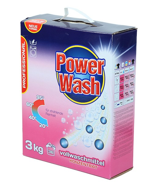 Стиральный порошок Power Wash Professional (универсальный) 3 кг