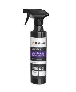 Bahler Silikonlack für Reifen SR -100-005, 0,5 л. Глянцевый полироль для шин. Триггер