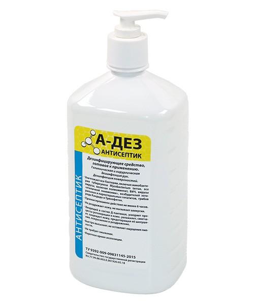 А-ДЕЗ-Антисептик 1л с насосом-дозатором