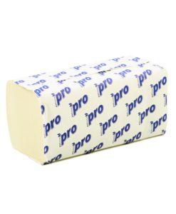 Листовые бумажные полотенца Комфорт Эко 2-слойные, V-слож. целлюлоза, 200 листов (в коробе 20 шт)