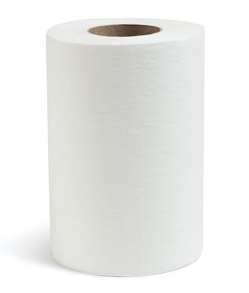 Полотенце бумажное рулонные Элит мини 2-слойное, целл., 80 м
