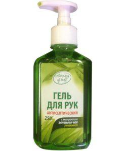 """Гель для рук """"Антисептический"""" с экстрактом зеленого чая 250 мл"""