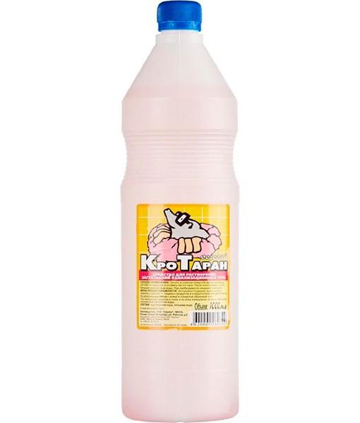 Средство для прочистки труб «Кротаран Розовый» 1 л