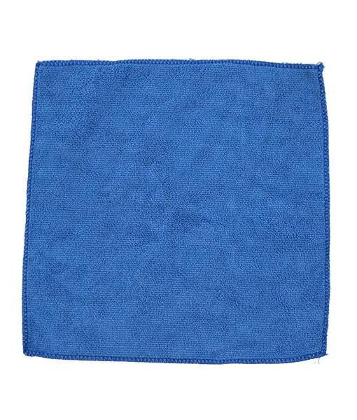 Салфетка из микрофибры 35*35см (синяя) 220г/м2