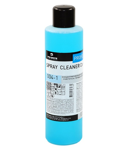 Спрей Клинер (Spray Cleaner) Концентрат 1л универс. очиститель твердых поверхн.