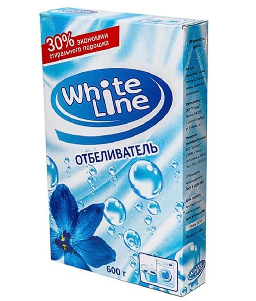 Отбеливатель «White Line» 600 гр