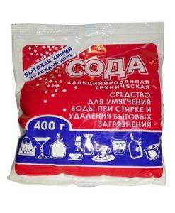 Сода кальцинированная 400 г