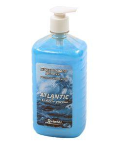 Жидкое мыло Спринтер ATLANTIC 1л дозатор насос