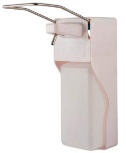 Дозатор локтевой пластиковый с металлическим рычагом без распылителя 1000 мл (А-265)
