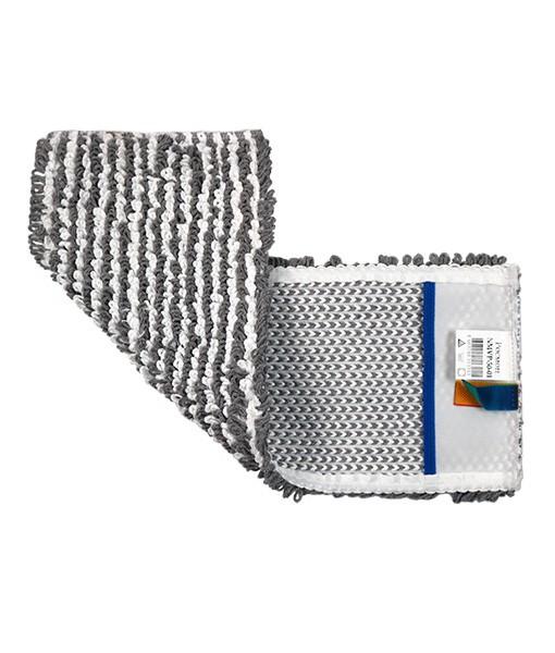 Моп 50см петельный СЕРЫЙ ЭКОНОМ комбинированный карман NMVP-50-01