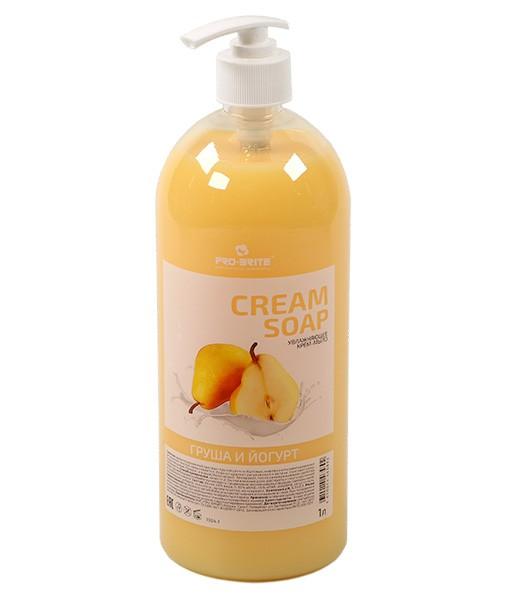 Жидкое крем мыло, 1 л Груша и йогурт