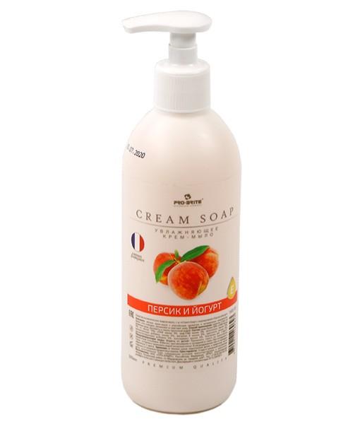 Жидкое крем мыло, 0,5 л Персик и йогурт