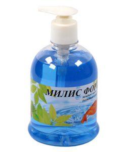 """Жидкое мыло с антисептическое """"Милис-Форте"""" 0,5 л с дозатором"""
